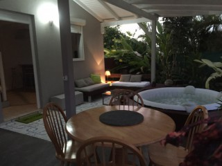Location Appartement Guadeloupe - Vue ensemble terrasse