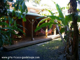 Location Bungalow Guadeloupe : internet, jaccuzzi