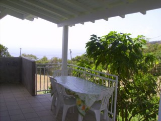 Location Appartement Guadeloupe - Terrasse couverte