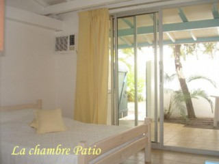 Location Appartement Guadeloupe - CHAMBRE PATIO
