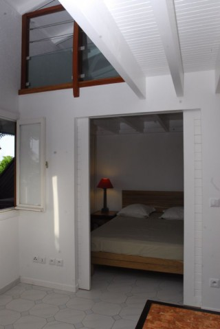 Location Appartement Guadeloupe - coin salon mezzanine