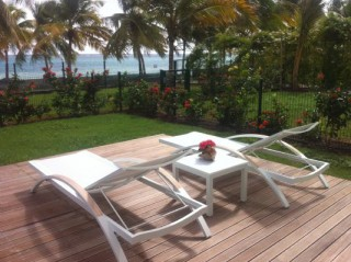 Location Appartement Guadeloupe - le deck sur lagon