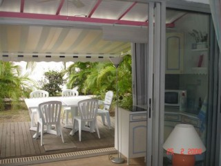 Location Appartement Guadeloupe - terasse