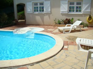 Location Appartement Guadeloupe - Piscine MISKIR