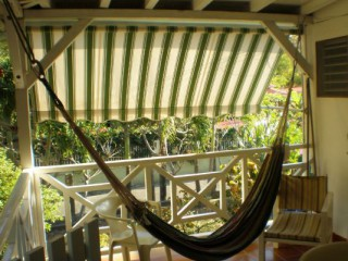 Location Bungalow Guadeloupe - terrasse