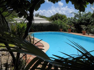 Location Bungalow Guadeloupe - PISCINE