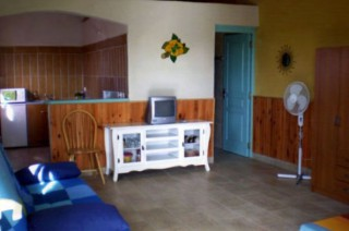 Location Bungalow Guadeloupe - Salon