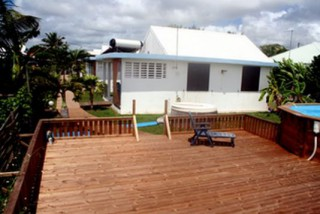 Residence le baliste : Bungalow Guadeloupe