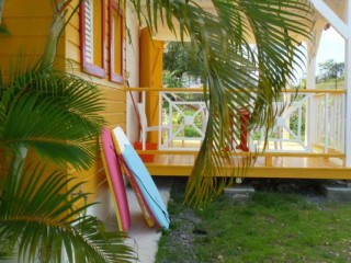 Location Bungalow Guadeloupe - Le T2 Papaye