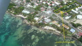 Location Bungalow Guadeloupe - Vue aerienne