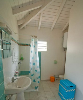 Location Bungalow Guadeloupe - SDB
