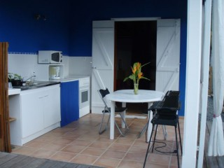 Location Studio Guadeloupe - photo terrasse