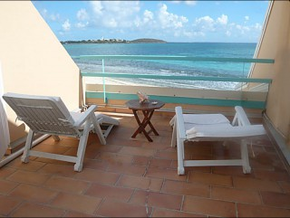 Location Studio Saint-Martin - Terrasse solarium