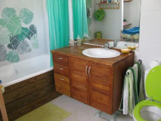 Location Villa Guadeloupe - Salle de bain privative