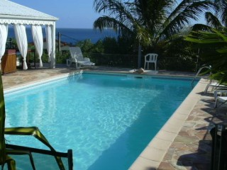 Location Villa Martinique : Vue Mer, Piscine, Clim, Internet, Jaccuzzi
