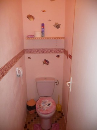 Location Villa Martinique - Toilette