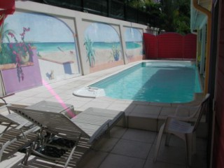 Location Villa Saint-Martin - piscine creolina