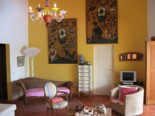Location Villa prestige Guadeloupe - Salon-Meridienne