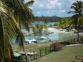 Location Studio Guadeloupe : vue mer, climatisation, animaux, internet