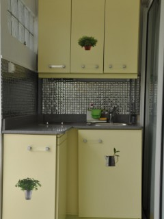 Location vacances Studio Le-Moule: Kitchenette ...<br />