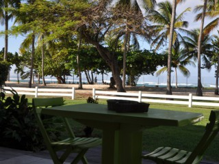 Location Studio Guadeloupe : vue mer, climatisation, internet
