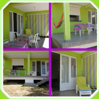 Location Appartement Guadeloupe - villa cana F2 exterieur