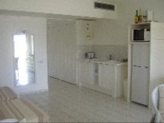 Location Studio Guadeloupe - KITCHENETTE