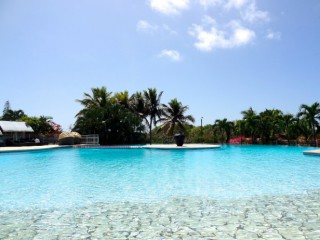 Location Studio Guadeloupe - piscine