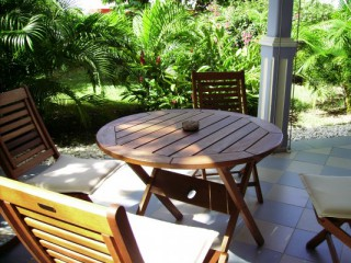 Location Studio Guadeloupe - terrasse