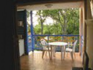 Location vacances Appartement Sainte-Anne: Terrasse ...<br />
