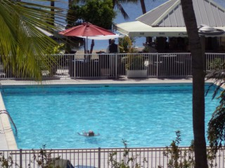 Location Studio Saint-Martin - PISCINE ET JARDIN TROPICAL