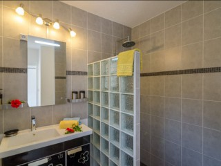 Location Studio Saint-Martin - douche italienne