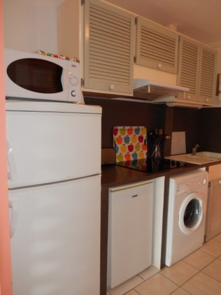 Location Studio Saint-Martin - kitchenette