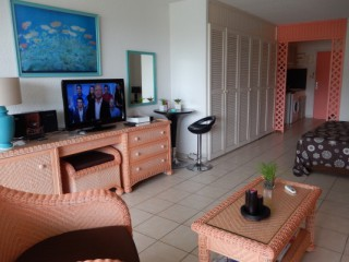 Location Studio Saint-Martin - plage Orient Baie