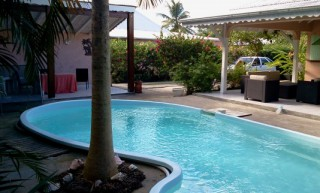 Location Villa prestige Guadeloupe - villa terrasse et piscine privative