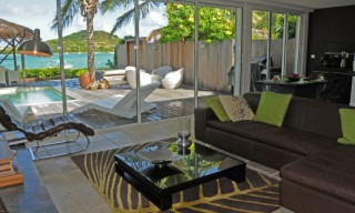 Location Villa de luxe Saint-Martin - salon VILLA JADE 3