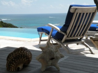Villa dawn beach : Villa Saint-Martin