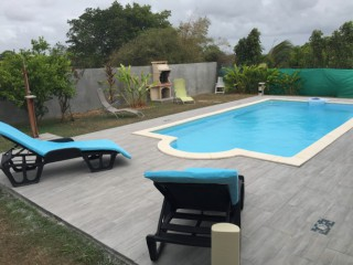 Location Villa Guadeloupe : piscine, clim, internet