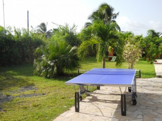 Location Villa Guadeloupe - epace jeux ping pong balancoire