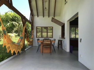 Location Villa Guadeloupe - Terrasse spacieuse.