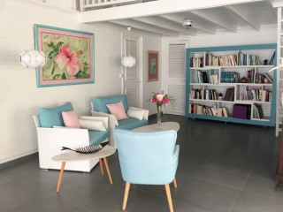 Location Villa Guadeloupe - Salon interieur