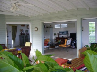 Location Villa Guadeloupe - salon terrasse 80 m2