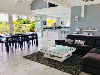 Location vacances Villa Sainte-Rose: salon villa palina guadeloupe ...<br />