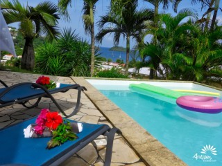 Location Villa Martinique : vue mer, piscine, clim, internet