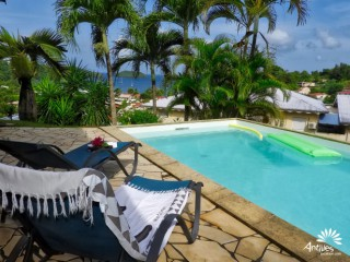 Location Villa Martinique - Piscine au sel