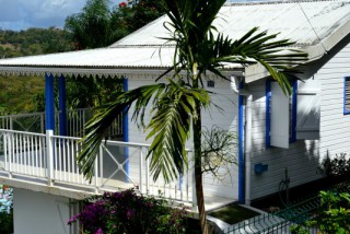 Case vanille-chocolat : Villa Martinique