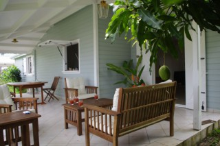 Location Villa Martinique - La terrasse