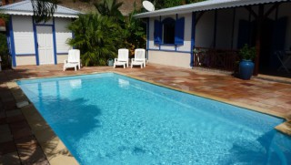 Location Villa Martinique - Piscine-2