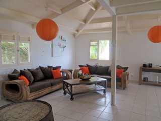 Location Villa Martinique - Salon