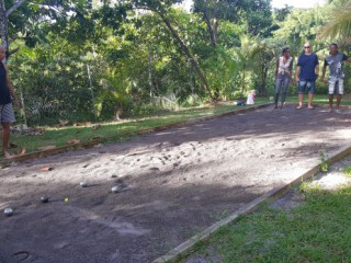 Location Villa Martinique - Terrain pétanque